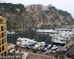 Монако на Лазурном побережье во Франции