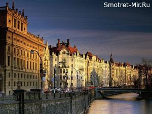Чехия - центральная улица