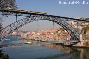 Железнодорожный мост Марии Пиа в Порту