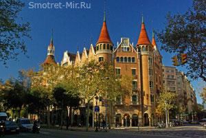 Casa de las Punxes - Барселона