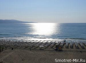 Солнечный пляж Болгария
