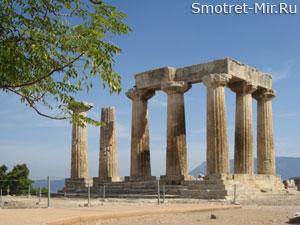 Храм Аполлона в Родос