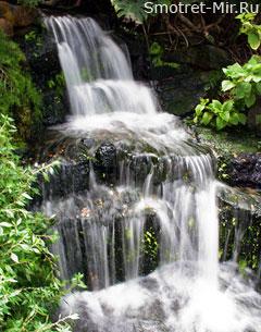 Впечатляющий водопад