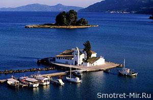 На острове Корфу