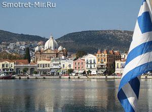 Остров Лесбос Греция