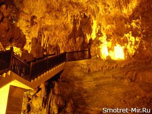 Пещера Дамлаташ в Турции