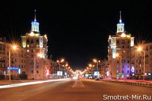 Проспект Ленина в Запорожье