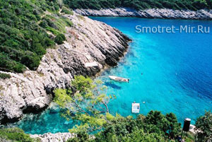 Скалы острова Корчула