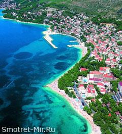 Средняя Далмация в Хорватии