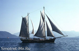 Яхта в Бодруме