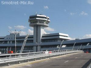 Аэропорт Минска в Белоруссии