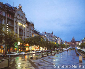 Прага - Вацлавская площадь