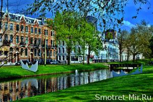 Голландский город Роттердам