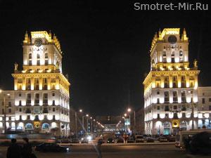 Город Минск в Белоруссии