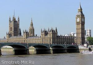 Путеводитель по Лондону (на фото здание Парламента)