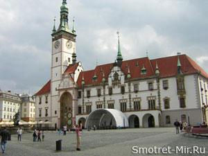 Старая ратуша в городе Брно