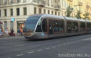 Трамваи в Ницце