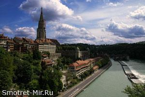 Бернский собор в Швейцарии