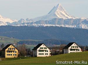Город Берн в Швейцарии