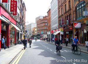 Город Дублин Фото