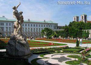 Дворец Мирабель - город Зальцбург