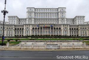 Дворец Парламента Румынии в Бухаресте