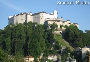 Крепость Хоэнзальцбург в Зальцбурге