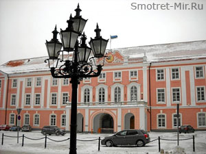 Парламент Эстонии - город Таллин