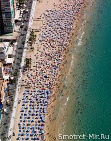 Пляжи Бенидорма