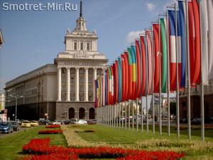 Столица Болгарии - город София