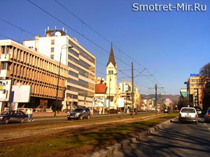 Столица страны Босния и Герцеговина