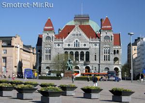 Национальный театр в Хельсинки