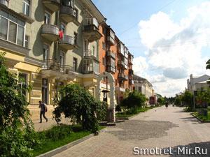 Улица города Сумы