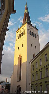 Церковь Святого Олафа в Эстонии