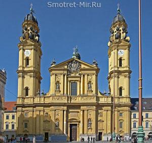Церковь святого Каэтана в Мюнхене