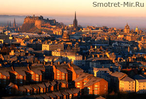 Город Эдинбург - столица Шотландии