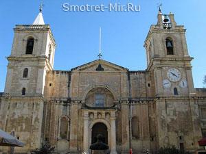 Кафедральный собор Святого Иоанна - город Валетта
