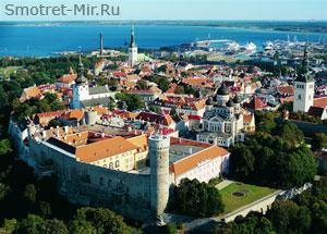 Vanalinn Старый город Таллин