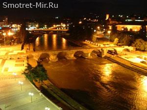 Скопье Македония - каменный мост