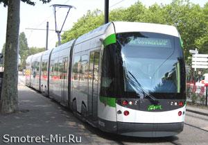 Транспорт города Нант - Франция