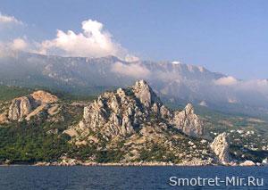 Крымские горы Украины