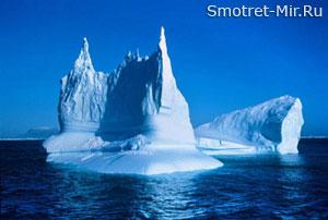 Плавающие горы - айсберги