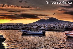 Вулкан Везувий в Италии
