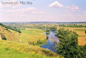Лесостепная зона Украины