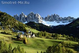 Альпы в Европе