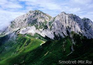Вершина Альп