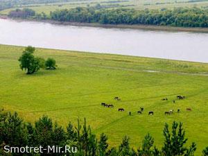 Волга река