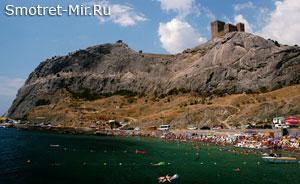 Горная гряда Украины