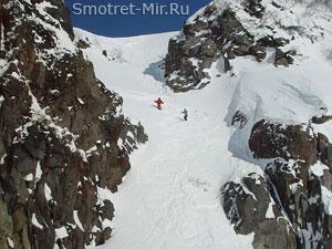 Горный склон Альп