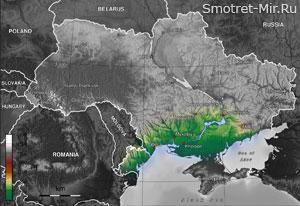 Причерноморская низменность Украины